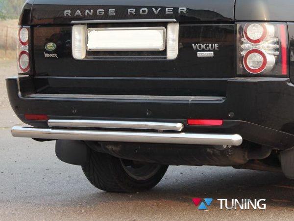 Защита заднего бампера Range Rover III Vogue (02-12) - дуга двойная