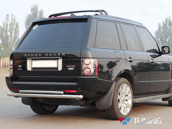 Защита заднего бампера Range Rover III Vogue (02-12) - дуга двойная - фото 2