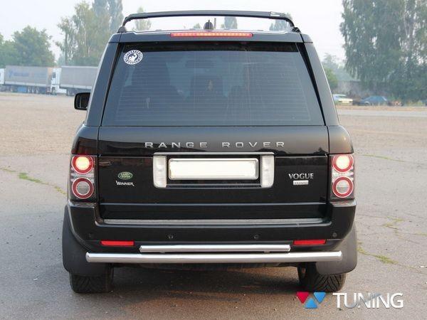 Защита заднего бампера Range Rover III Vogue (02-12) - дуга двойная - фото 3