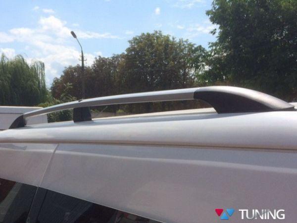 Рейлинги серые FIAT Doblo II (2010-) пластик крепления