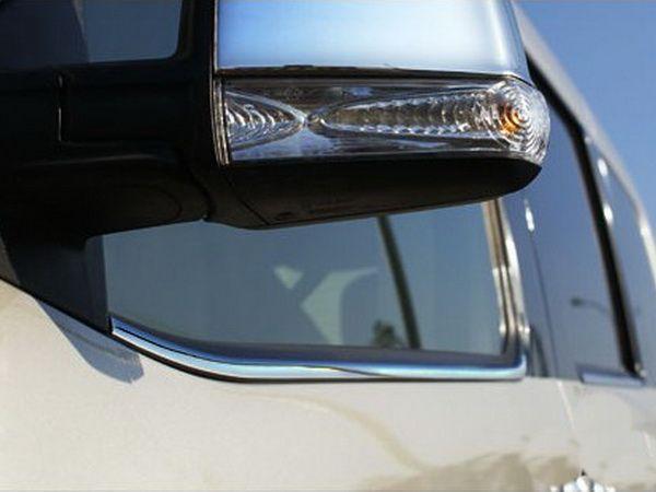 Хром нижняя окантовка стёкол FIAT Doblo II (2010-/2014-)