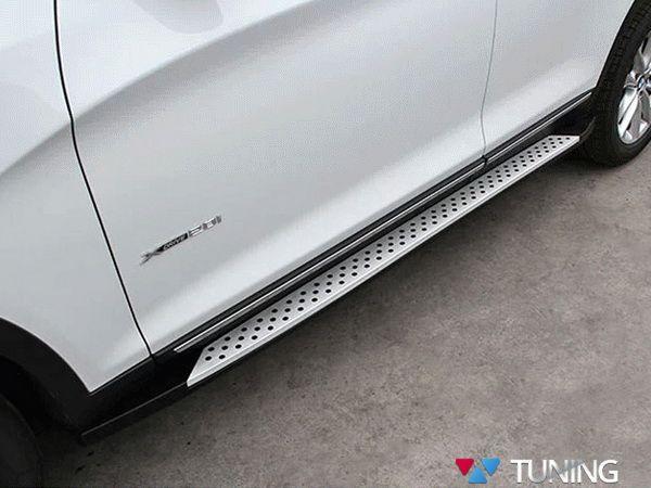 Пороги боковые BMW X3 F25 (2011-) OEM оригинал