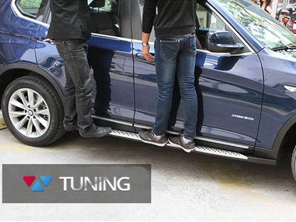 Пороги боковые BMW X3 F25 (2011-) OEM оригинал - фото #7