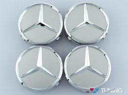 Колпачки в оригинальные диски MERCEDES W169 - звёзды хром