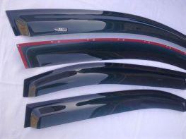 Ветровики TOYOTA Auris I (06-12) 5D / (12-) Classic HIC