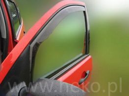 Ветровики DAEWOO Lanos (1997-) 3D Hatchback HEKO