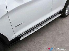 Пороги боковые BMW X3 F25 (2011-) OEM