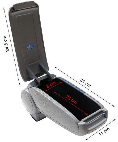 Размеры подлокотника Omsa для OPEL Corsa E