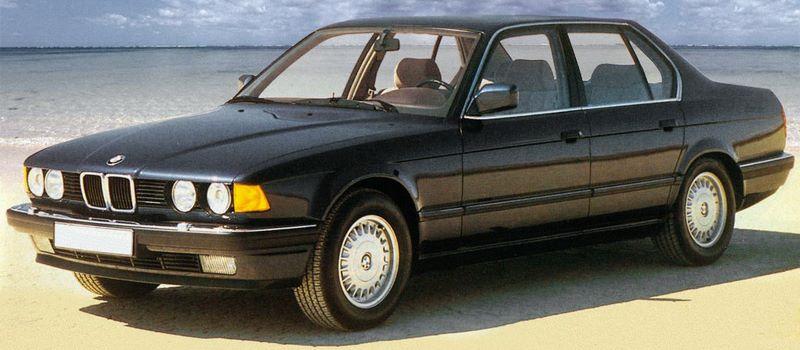BMW Serie 7 E32 Sedan