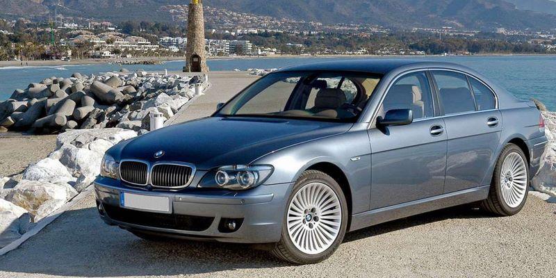 BMW Serie 7 E65 Sedan (2005-2008) после рестайлинга
