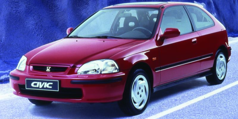 HONDA Civic VI (1995-2001) 3D Hatchback