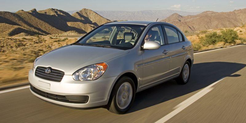 HYUNDAI Accent III (MC) (2006-2010) Sedan