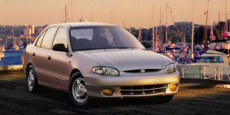 HYUNDAI Accent I (1995-1999) Sedan