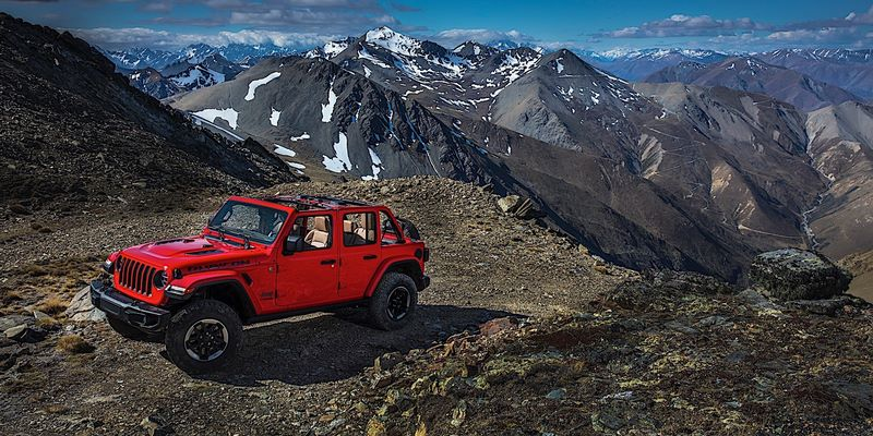 JEEP Wrangler JL Unlimited Rubicon 2018
